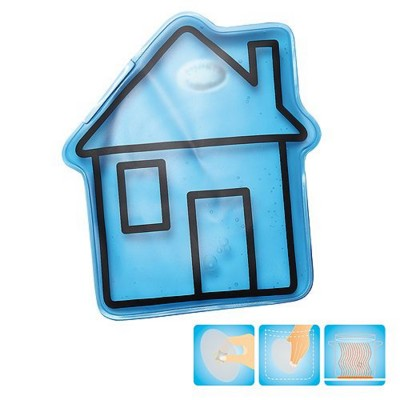 Picture of HOUSE SHAPE HEATED GEL HOT PACK HAND WARMER in Blue