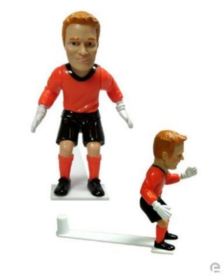 Picture of GOALKEEPER FOOTBALL PLAYER FIGURE in Orange
