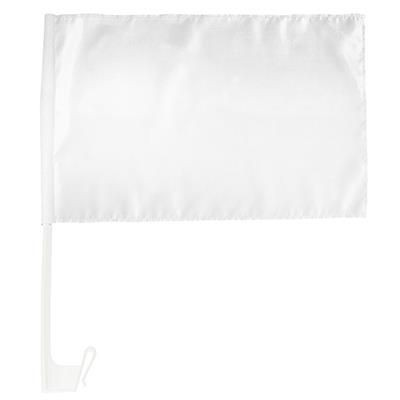 Picture of WHITE CAR FLAG