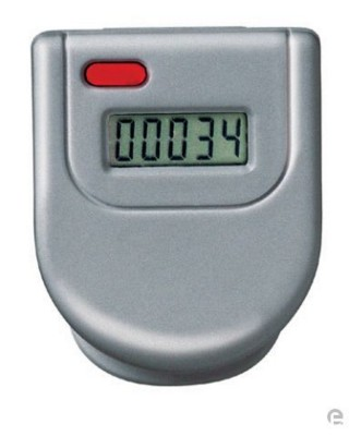Picture of PEDOMETER in Silver