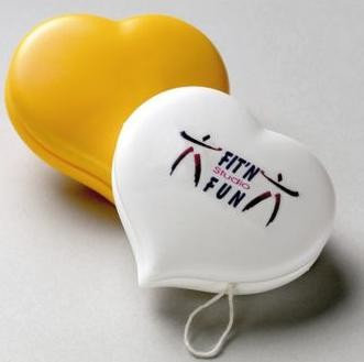 Picture of HEART SHAPE PLASTIC YOYO
