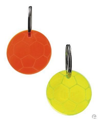 Picture of PLASTIC FOOTBALL KEYRING