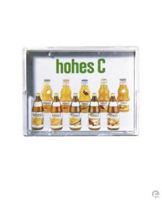 Picture of PLASTIC RECTANGULAR POCKET PUZZLE TRAY GAME in Clear Transparent