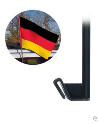 Picture of FLAG CLIP in Black