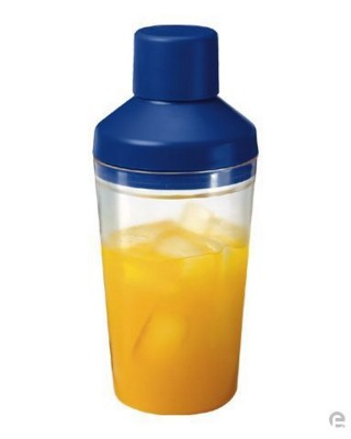Picture of PLASTIC COCKTAIL SHAKER with Sieve & Leak Safe Closing Lid