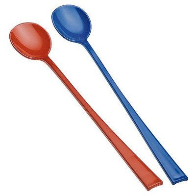Picture of LONG HANDLE PLASTIC SPOON