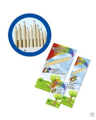 Picture of 12 WOOD COLOURING PENCIL SET