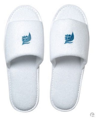 Picture of FLIP FLOPS SLIPPERS in White