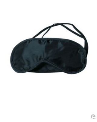 Picture of SLEEPING EYE MASK in Black: Material: Nylon