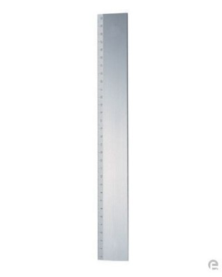 Picture of METAL RULER in Silver