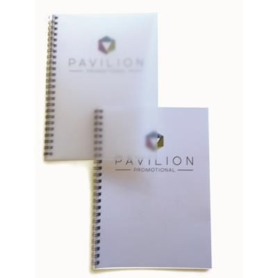 Picture of A5 SPIRAL WIRO BOUND PAD with Frosted Poly Cover