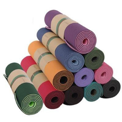 Picture of PRINTED COLOUR YOGA MAT