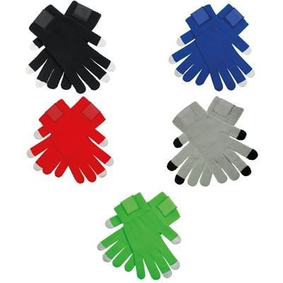Picture of TOUCH SCREEN GLOVES with Label