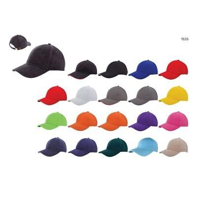 Picture of HEAVY BRUSHED CAP