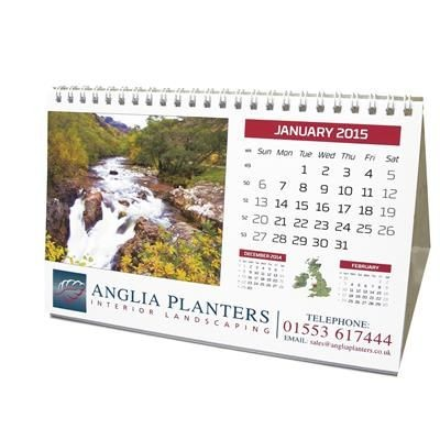 Picture of BESPOKE DESK TENT CALENDAR
