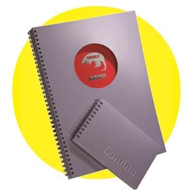 Picture of BESPOKE SPIRAL WIRO WIRE BOUND NOTE PAD BOOK