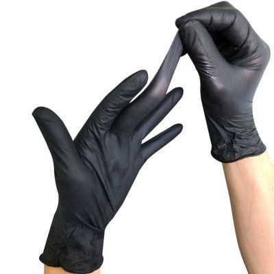 Picture of DISPOSABLE LATEX GLOVES