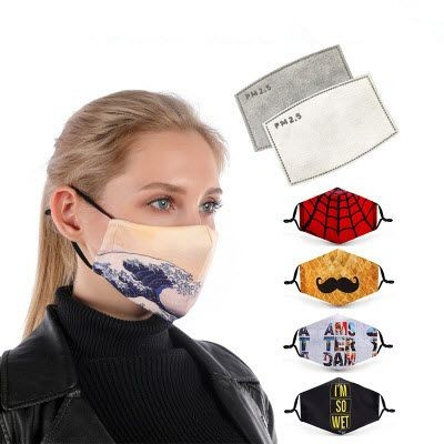 Picture of SUBLIMATED PRINT FACE MASK