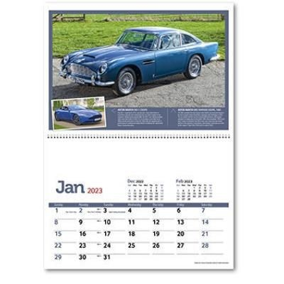 Picture of CLASSIC MARQUES - PAST & PRESENT WALL CALENDAR