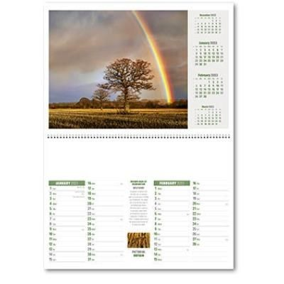 Picture of PICTORIAL BRITAIN WALL CALENDAR