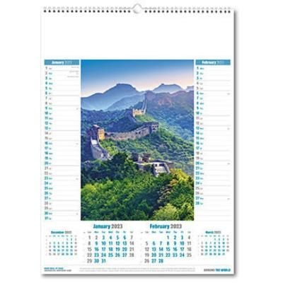 Picture of AROUND WORLD MEMO CALENDAR