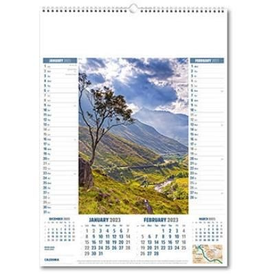 Picture of CALEDONIA WALL CALENDAR