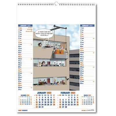 Picture of FUNNY BUSINESS WALL CALENDAR
