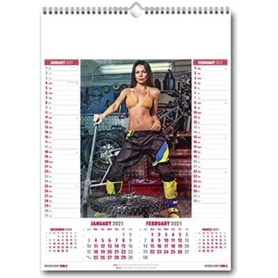 Picture of WORKSHOP GIRLS WALL CALENDAR