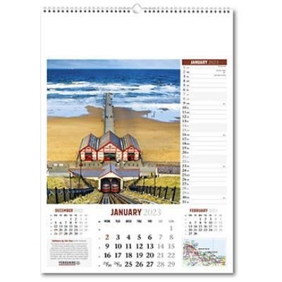 Picture of YORKSHIRE WALL CALENDAR