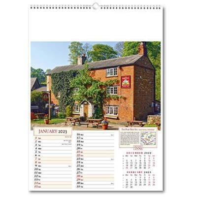Picture of OLD WORLDE INNS WALL CALENDAR