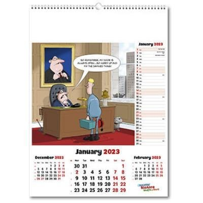 Picture of BIZARRE WORLD OF WORK WALL CALENDAR