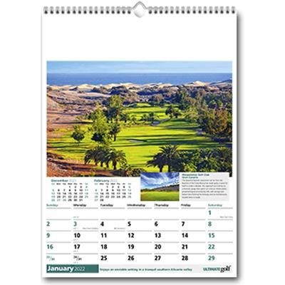 Picture of ULTIMATE GOLF WALL CALENDAR