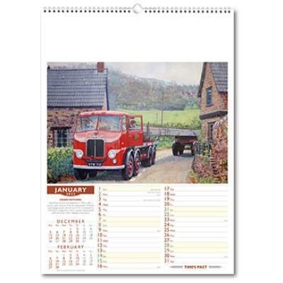 Picture of TIMES PAST WALL CALENDAR