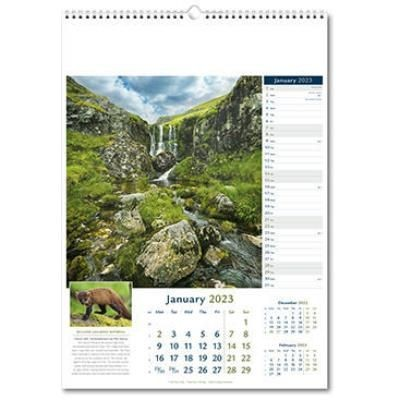 Picture of RURAL BRITAIN WALL CALENDAR