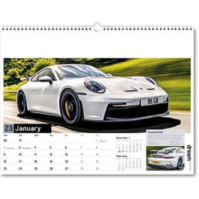 Picture of DREAM MACHINES WALL CALENDAR