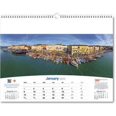 Picture of 360INTERACTIVE ORGANIZER WALL CALENDAR