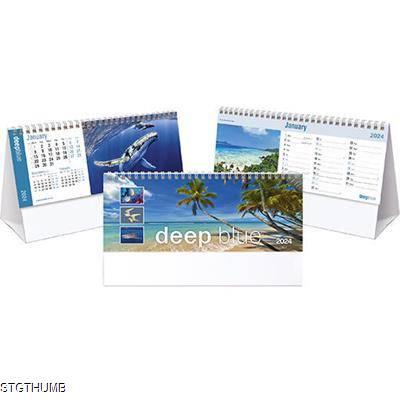 Picture of DEEP BLUE DESK CALENDAR