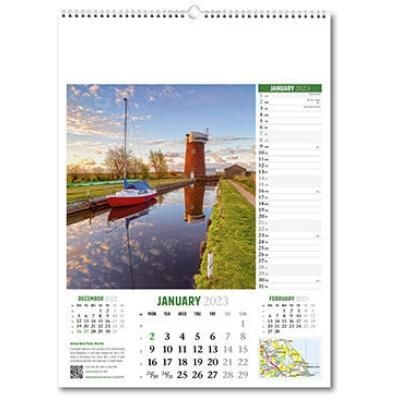 Picture of DISCOVER BRITAIN WALL CALENDAR