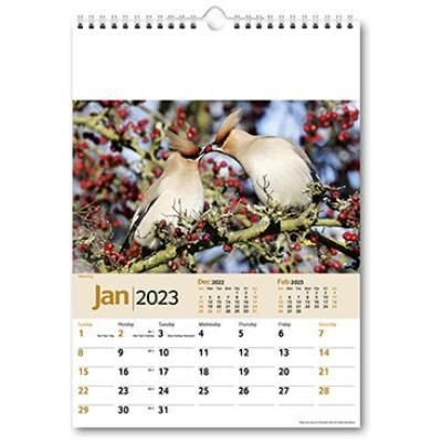 Picture of WILDLIFE MEMO WALL CALENDAR