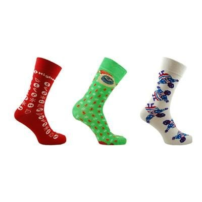 Picture of BESPOKE CHRISTMAS DRESS SOCKS