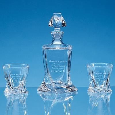 Picture of 3PC QUATRO WHISKY SET SUPPLIED in Gift Box