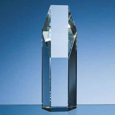 Picture of 19CM OPTICAL CRYSTAL HEXAGON AWARD