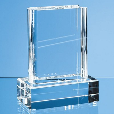 Picture of OPTICAL CRYSTAL GLASS BOOK AWARD