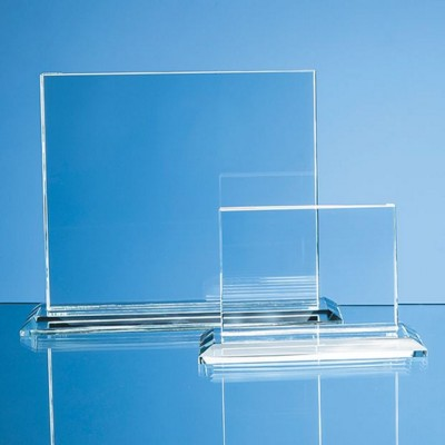 Picture of CLEAR TRANSPARENT GLASS HORIZONTAL RECTANGULAR AWARD