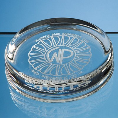 Picture of 9CM LARGE ROUND GLASS PAPERWEIGHT