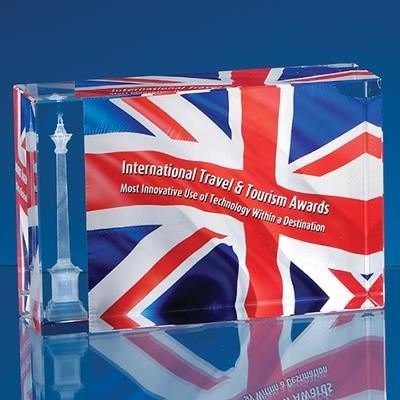 Picture of 12X8X4CM OPTICAL CRYSTAL RECTANGULAR