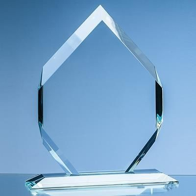 Picture of 15X10X15MM CLEAR TRANSPARENT GLASS MAJESTIC DIAMOND AWARD