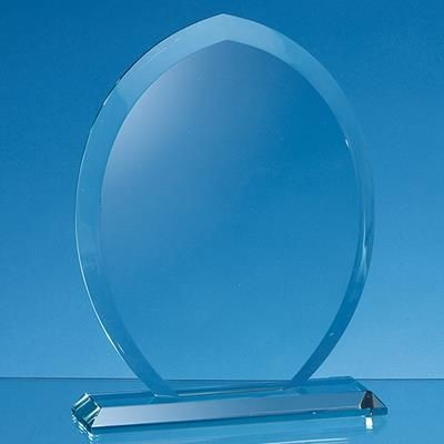 Picture of 15X12X15MM JADE GLASS TEAR DROP AWARD