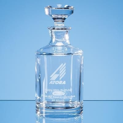 Picture of LEAD CRYSTAL BORIS SPIRIT DECANTER