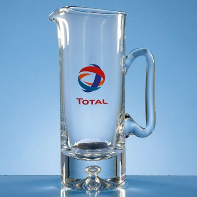 Picture of 1LTR HANDMADE BUBBLE BASE WATER JUG
